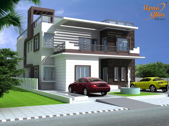 Why are nigerians not building this type of houses photos for Types of houses in nigeria