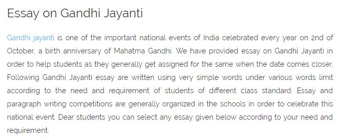 gandhi jayanti speech oct speech gandhi jayanti anchoring  full article happywishes2016 in essay 2016 speech 2 oct gandhi jayanti 2016 anchoring speech short speech script essay in hindi