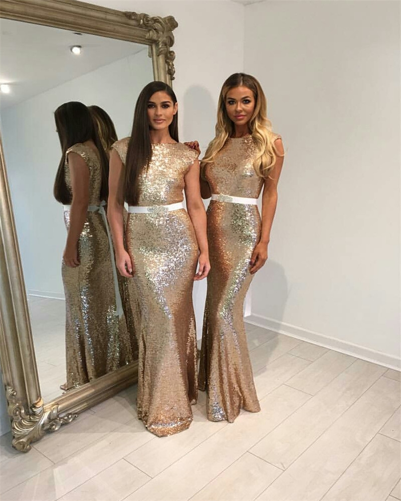 Bridesmaid dresses in champagne gold inspiration events nigeria ombrellifo Image collections