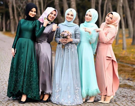 Wedding Dress Muslimah Simple : Muslimah bridesmaid dresses events nigeria