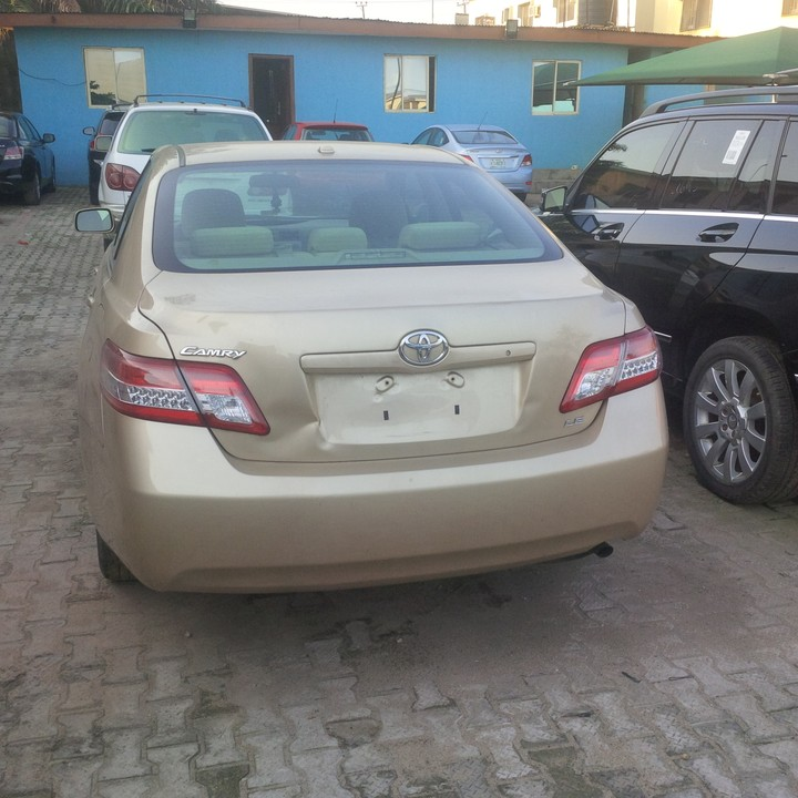 2010 Toyota Camry For Sale: Toyota Camry Unregistered 2010model For Sale Price 3.3m