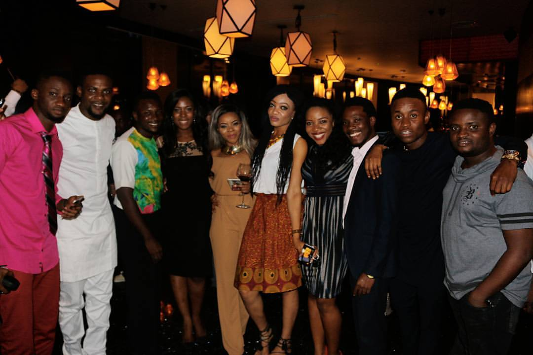 Pics From Linda Ikeji's 36th Birthday Party. Billionaire Ifeanyi Ubah, Others Attend