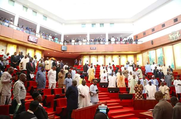 photos 4rm senate pleenary today as senate resumes after