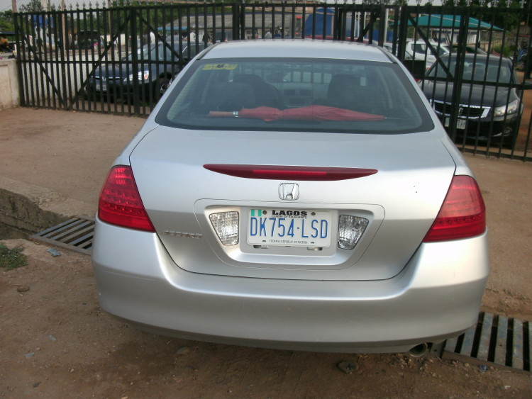 Nigerian Used 2006 Honda Accord Discussion Continue