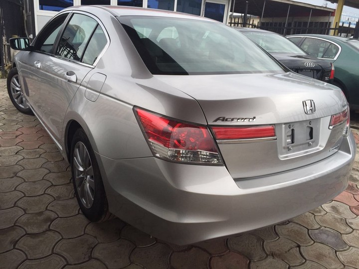 Sweet Looking Lagos Cleared 2011 Honda Accord Special