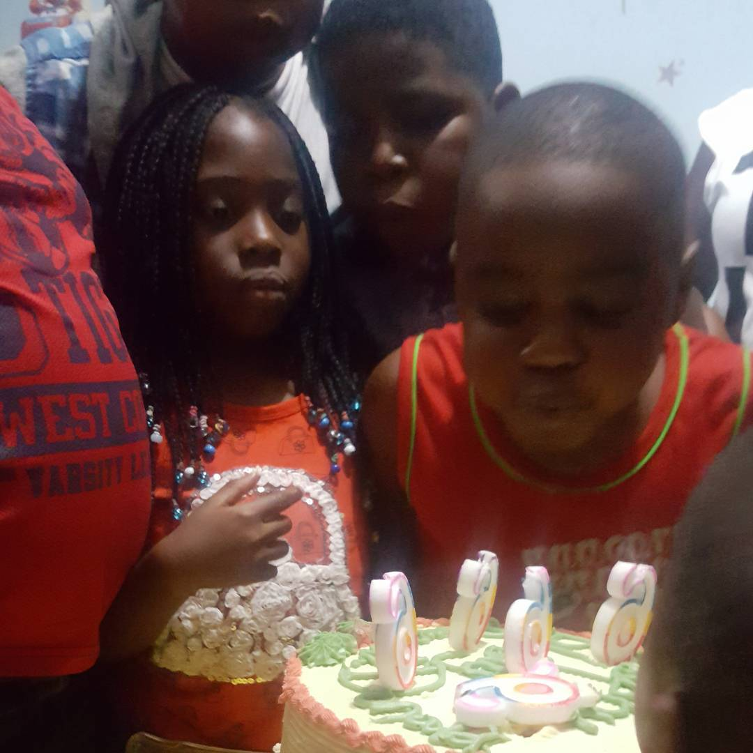 TOP NOLLYWOOD ACTOR NOW POLITICIAN DESMOND ELLIOT CELEBRATES THE 6TH BIRTHDAY OF HIS TWIN CHILDREN (PICTURES+VIDEO)
