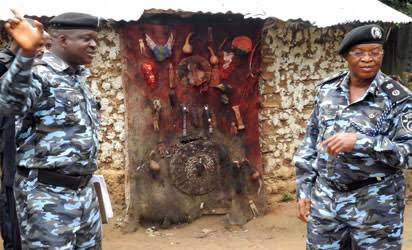 Ogun pastor gets stuck in shrine, loses consciousness