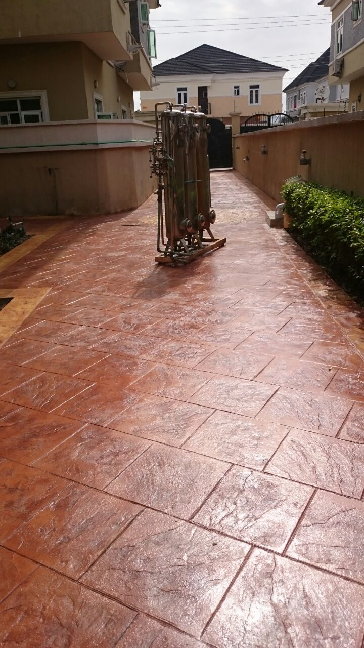 Stamped Concrete Flooring In Ghana : Stamped concrete epoxy flooring tiles polished