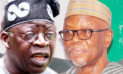 APC PARTY UNDER THREAT - BOLA TINUBU INSISTS OYEGUN MUST RESIGN AS APC CHAIRMAN