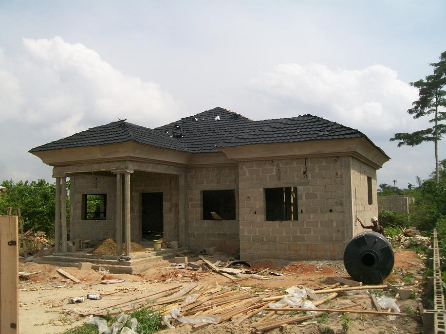 The real cost of building a six bedroom duplex for Cost of building a roof