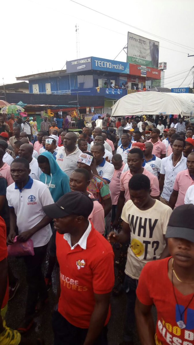 Photos From 1 Million March For Obaseki In Benin
