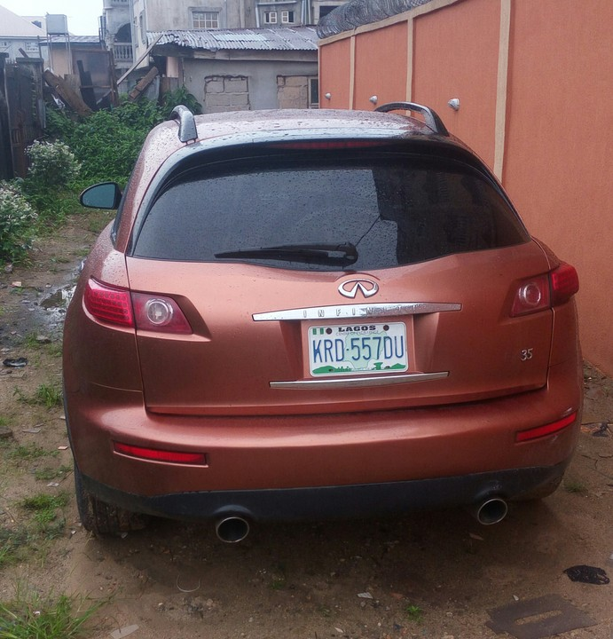 Infiniti Fx For Sale: Infiniti Fx35 Nigerian Used For Sale!!!