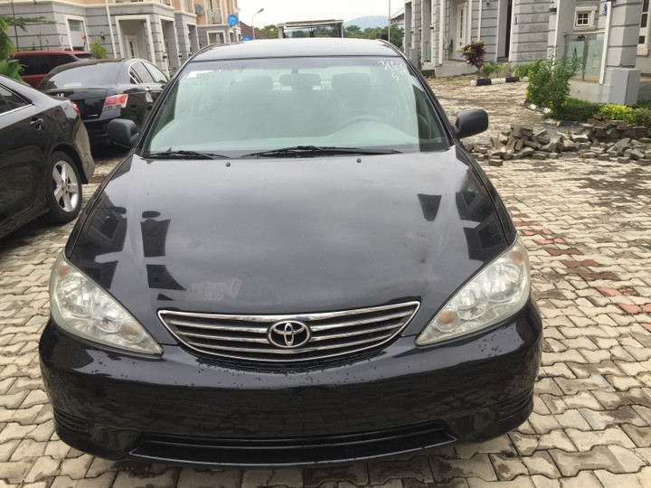 2006 tokunbo toyota camry for sale in abuja autos nigeria. Black Bedroom Furniture Sets. Home Design Ideas