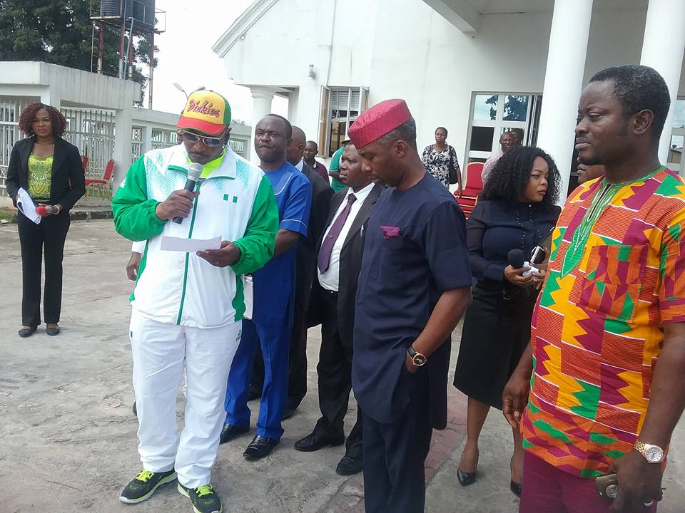 Photos: Gov. Okorocha Gives Paralympians Cars For Winning Gold
