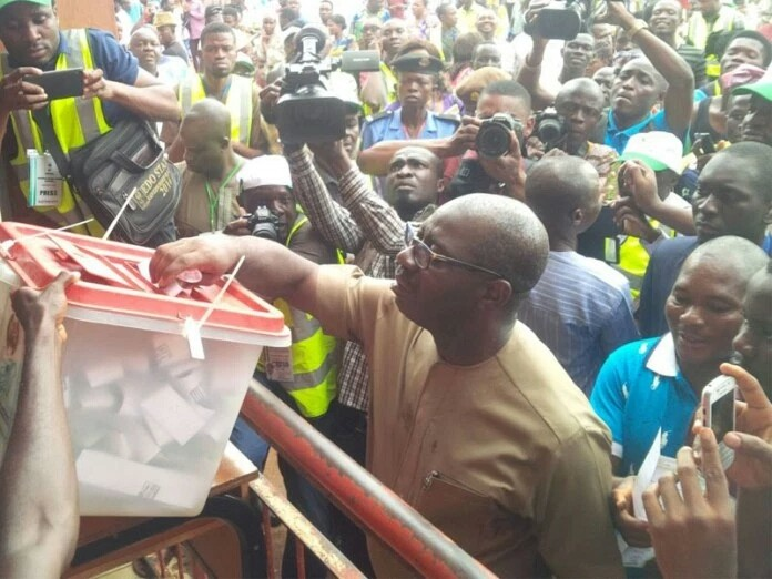 INEC Declares Godwin Obaseki Winner Of Edo Governorship Election