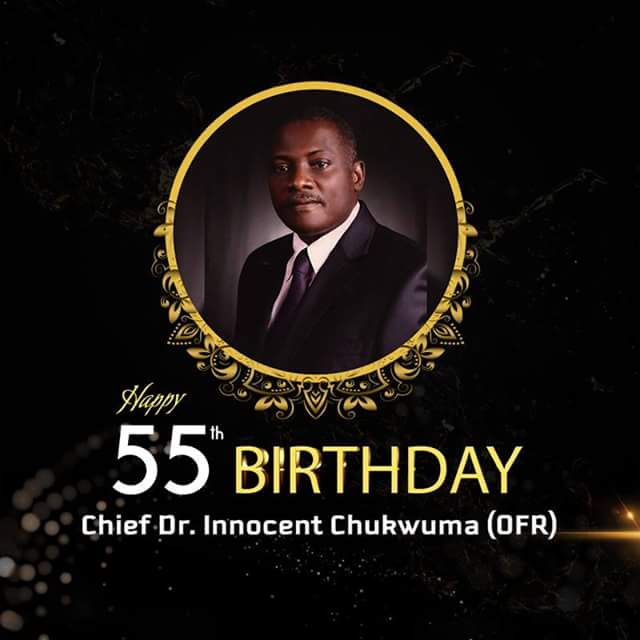 Innoson Motors Owner, Dr Innocent Chukwuma Celebrates 55th Birthday Today «