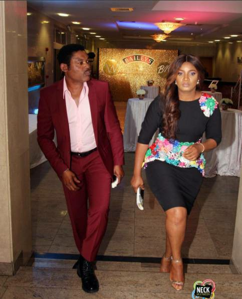 Actress Omotola Jalade-Ekeinde And Her Husband Step Out In Style (See Photos)