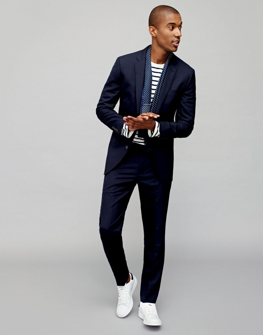 Guidelines To Wearing Suits With Trainers Fashion Nigeria