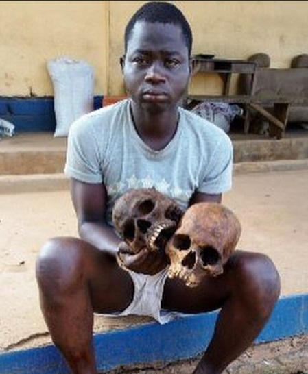 4312840 taxi1 jpeg4fe5943f34a6a72856813647453e759e - Man Who Trades In Human Parts Caught With 2 Human Skulls In Ogun (Pics)