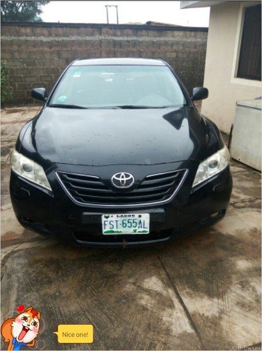 toyota camry 2008 model nigeria used first body buy drive. Black Bedroom Furniture Sets. Home Design Ideas