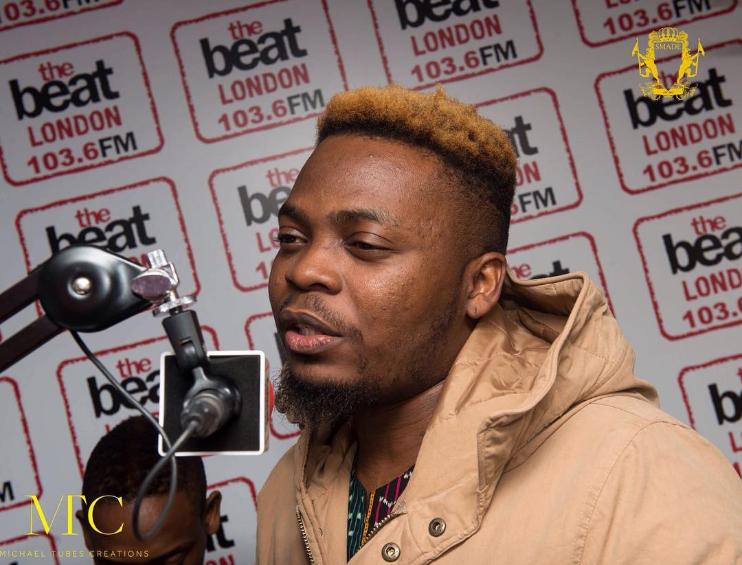 Olamide & His Tinted Hair Arrive London For YBNL UK Concert