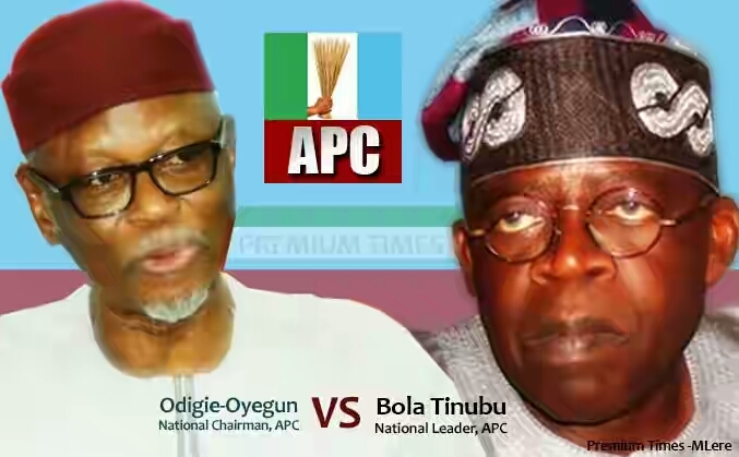 "Oyegun Formally Replies Tinubu: ""Your Allegations Are Reckless And False"""