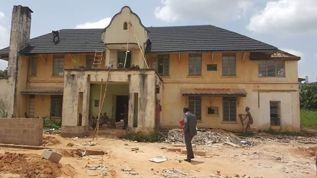 SEE WHAT GOV UGWUANYI IS DOING TO NNAMDI AZIKIWE FORMER HOUSE – WHAT HE IS TURNING IT INTO WILL SHOCK YOU (PHOTOS)