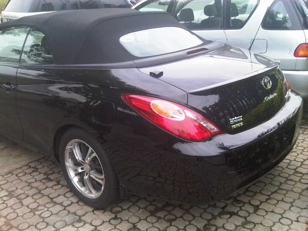 toyota solara convertible 2006 model available for sale autos nigeria. Black Bedroom Furniture Sets. Home Design Ideas
