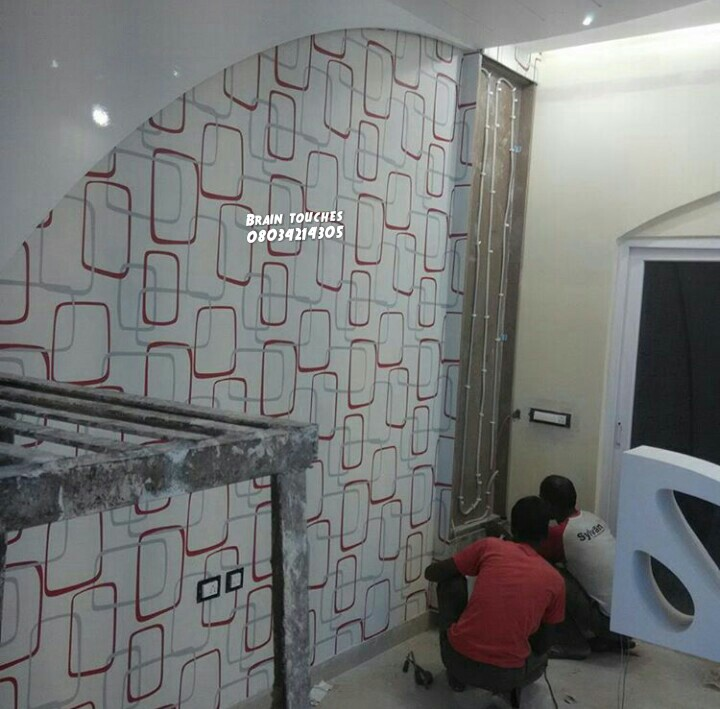 INTERIOR WALLPAPER AND 3D WALLPANEL Family Nigeria
