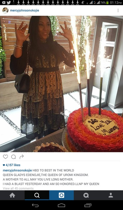 4346981 screenshot20161012131226 jpeg831c6baab904627abde92643746797be - Mercy Johnson Attends Her Sister-In-Law's Birthday Party (Photos)