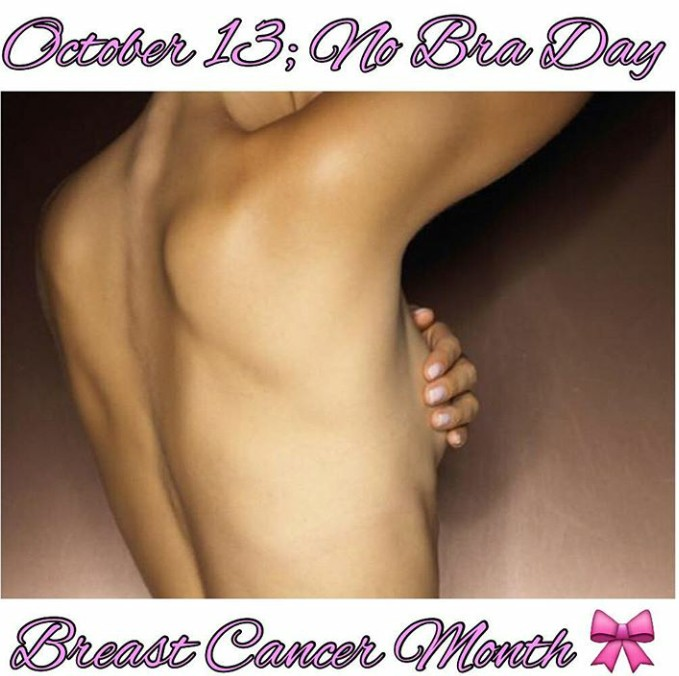 Braless!! Today Is No Bra Day