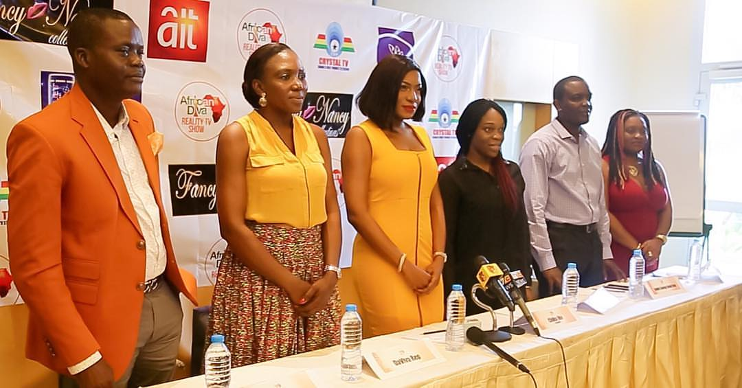 Chika Ike Stuns In Yellow At AIT For Press Briefing Of Her Reality Show (Photos)