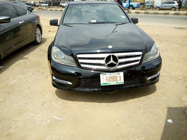 Limited offer tokunbo 2012 mercedes benz c300 4matic for Mercedes benz inspection cost