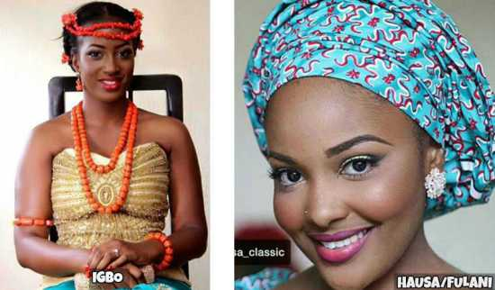 Image result for Igbo and fulani girls