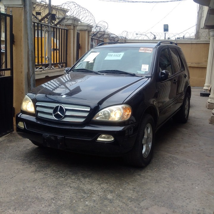 Tokunbo 2003 mercedes benz ml350 price for Mercedes benz 2003 ml350