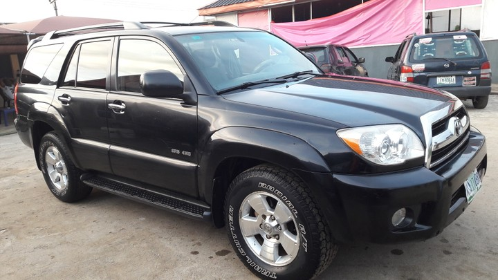 Clean 08 Toyota 4runner For Sale In Port Harcourt Autos Nigeria
