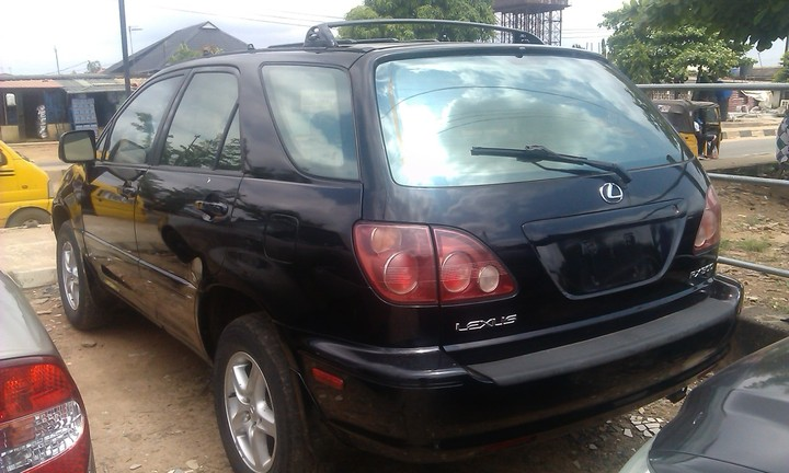 toks 2000 model lexus rx300 full optionsssssss for sale autos nigeria. Black Bedroom Furniture Sets. Home Design Ideas