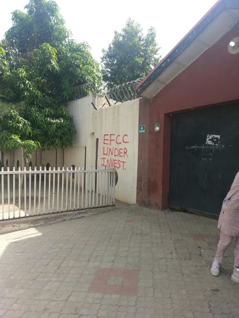EFCC Seals Mansions, Plazas Acquired From Stolen Loot From Katsina State -photos