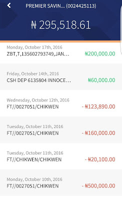 FFK's Wife, Precious, Shares Her Account Balance. Denies EFCC's Statement