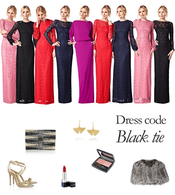Wear A Long Evening Gown For A Black Tie Evening Event - Fashion ...
