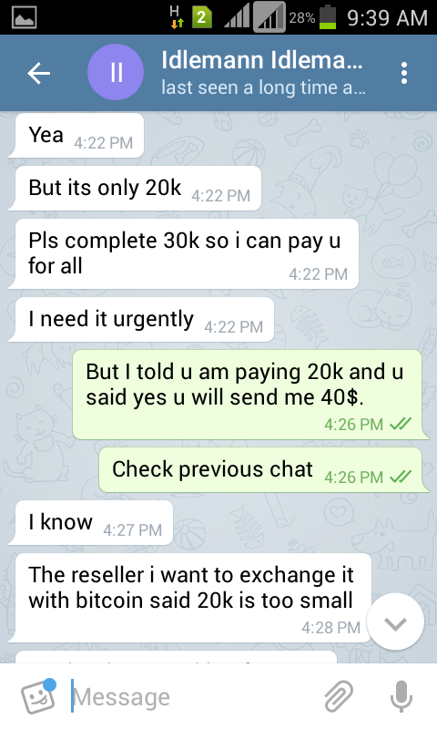 How I Got Scammed By A Nairalander On Telegram - Nairaland / General