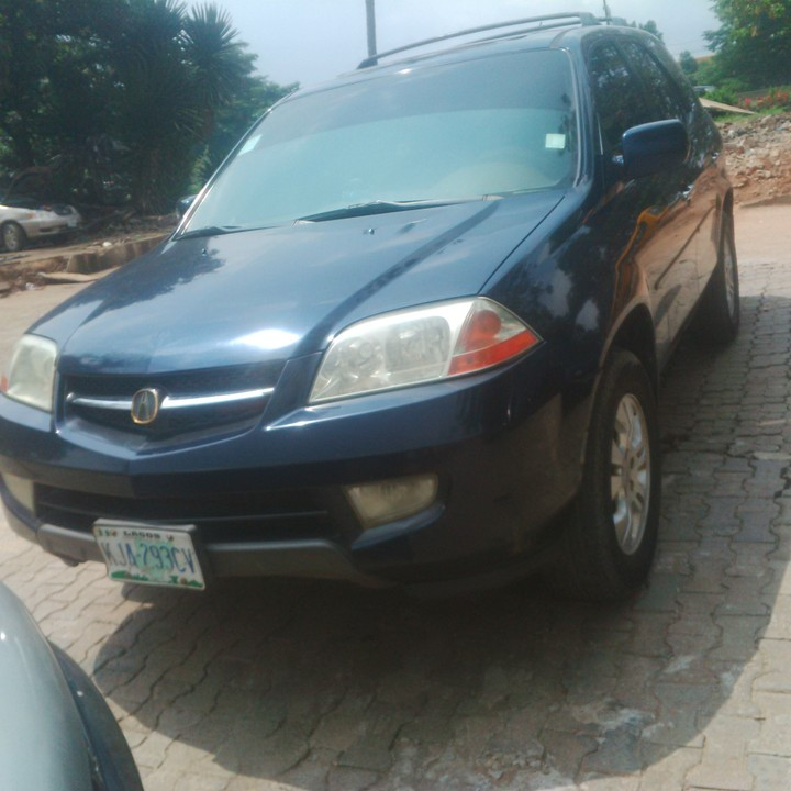 2005 Acura Mdx For Sale: Sparkling Used Acura MDX @ 1.150k@08084917622