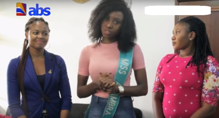 Miss Anambra, Chidinma Okeke, Hands Over Crown Amid Sex Video Scandal (Photos)
