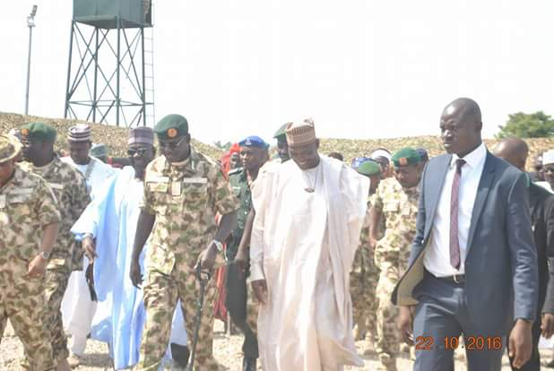 Buratai Commissions Tactical Operation Base Of Army In His Town Biu,Borno(pics)