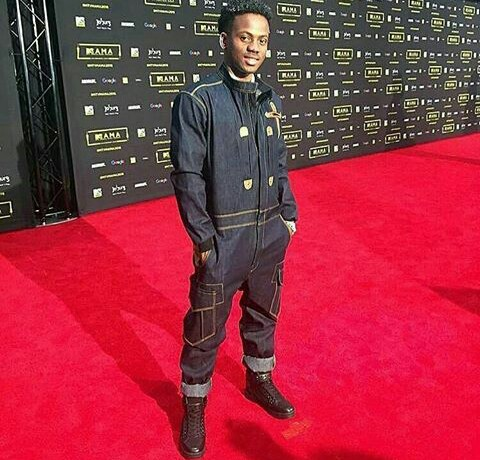 Korede Bello Blasted For Dressing Like A Plumber To MTV Mama Awards (Photos)