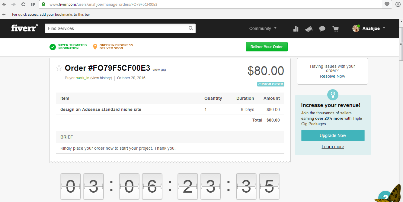 how to delete my fiverr account