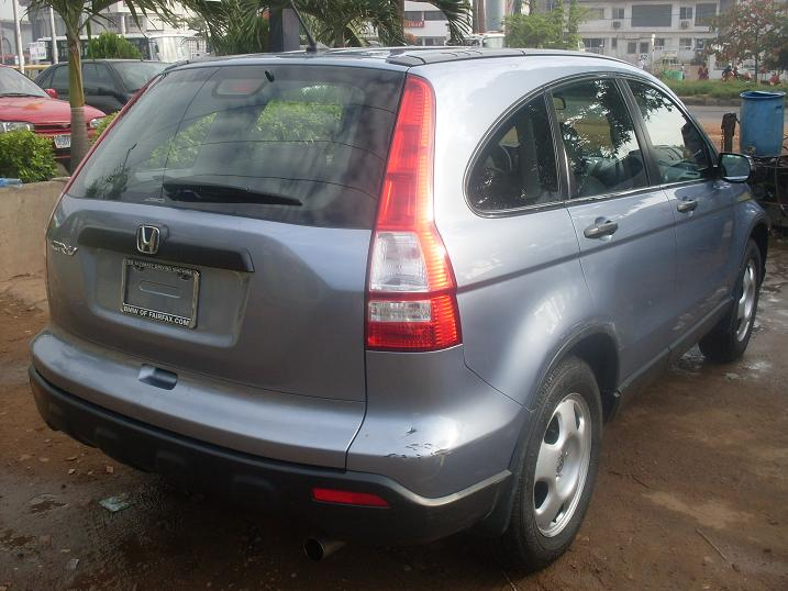 Re: 2007 Model Honda Crv Forsale(PRICE REDUCED,CALL NOW) by emeshot: 9:36am On May 13, 2011