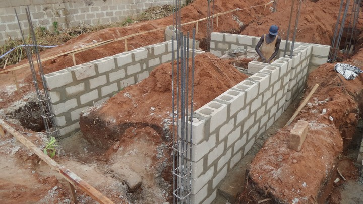 Construction Process Of A 6 Flats 3 Bedrooms House