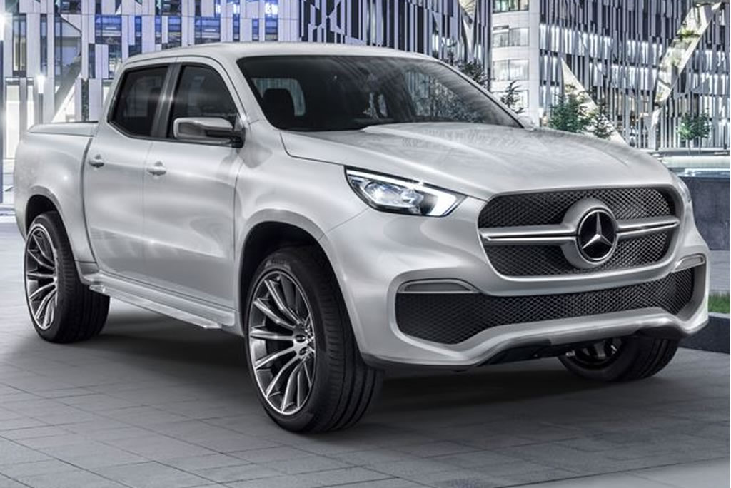 Mercedes Benz X Class Pickup Unveiled (Photos)