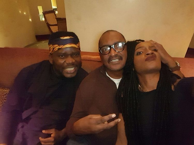 Matthew Knowles Pulls Seyi Shay's Hair In New Photo